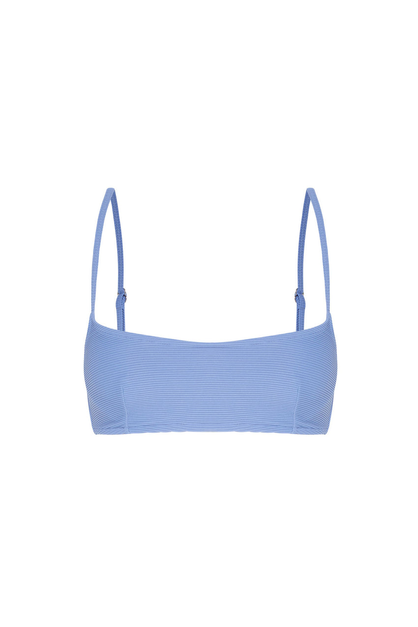 Signature Bralette Top - Sea Blue
