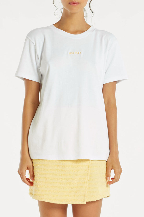 Holiday T Shirt - White