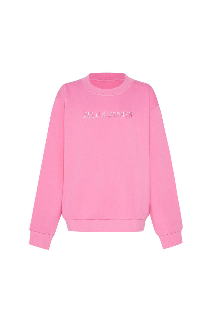 Classic Fleece Jumper - Hot Pink