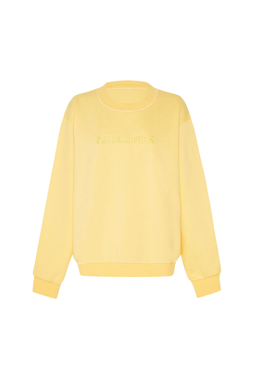 Classic Fleece Jumper - Lemon