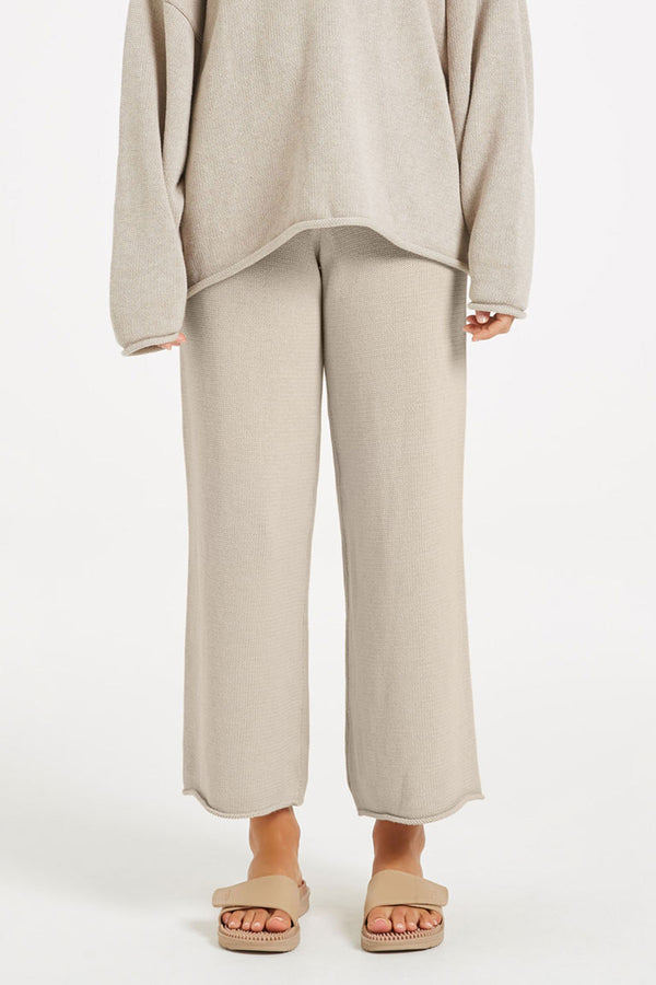 Relax Knit Pant - Husk