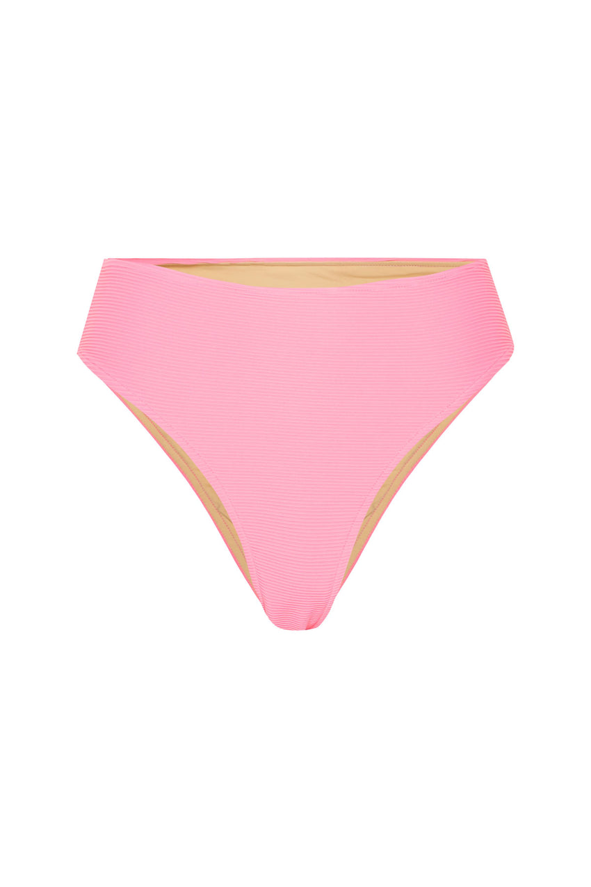 Signature Skimpy High Waisted Brief - Hot Pink