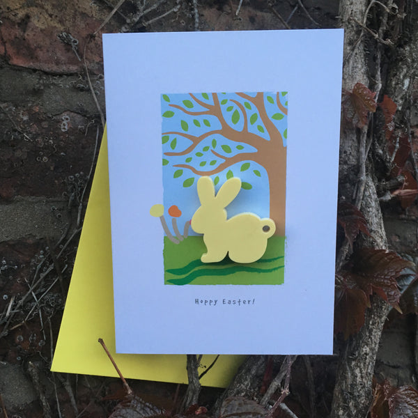 Easter Key Ring Card