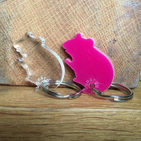 Small Animal Key Rings