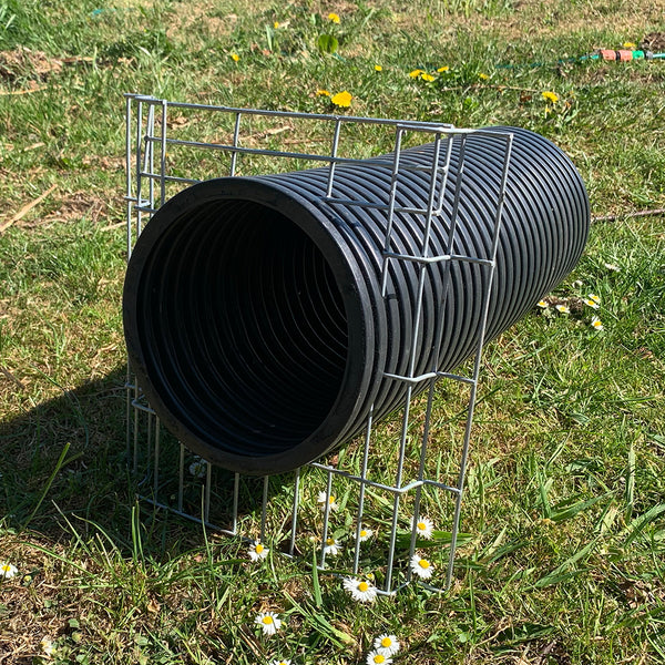 "Mesh Fitting for Large (8 & 10"") Pipe"