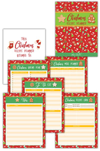Christmas Recipe Planner ( 9 Pages )