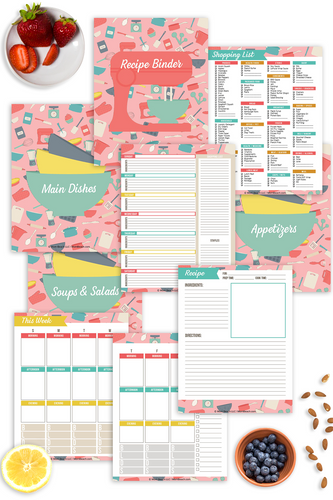 Recipe Binder (14 Pages)