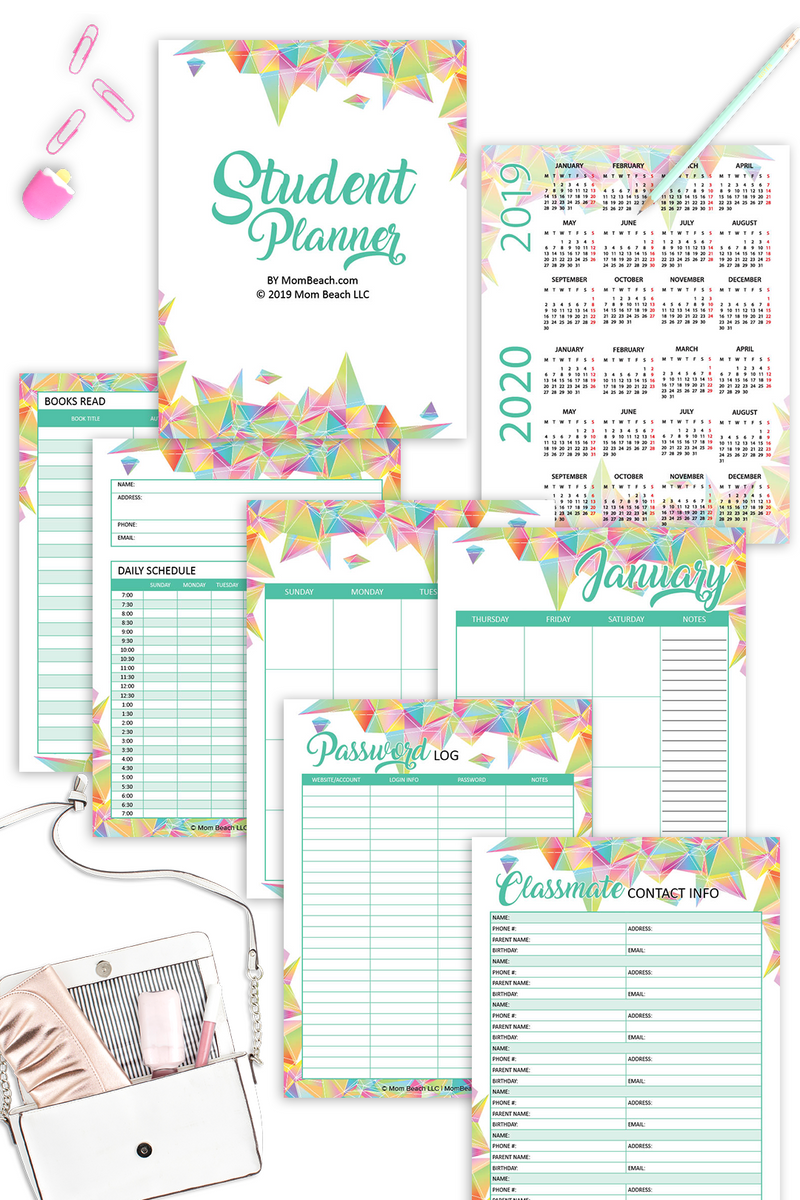 Student Planner (55 Pages)