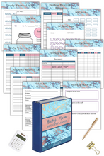 Load image into Gallery viewer, Busy Mom Budget Planner ( 101 Pages )