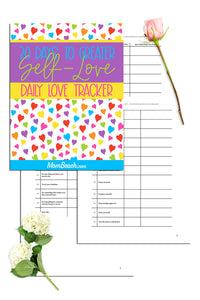 30 Days To Greater Self-Love Tracker (4 Pages)