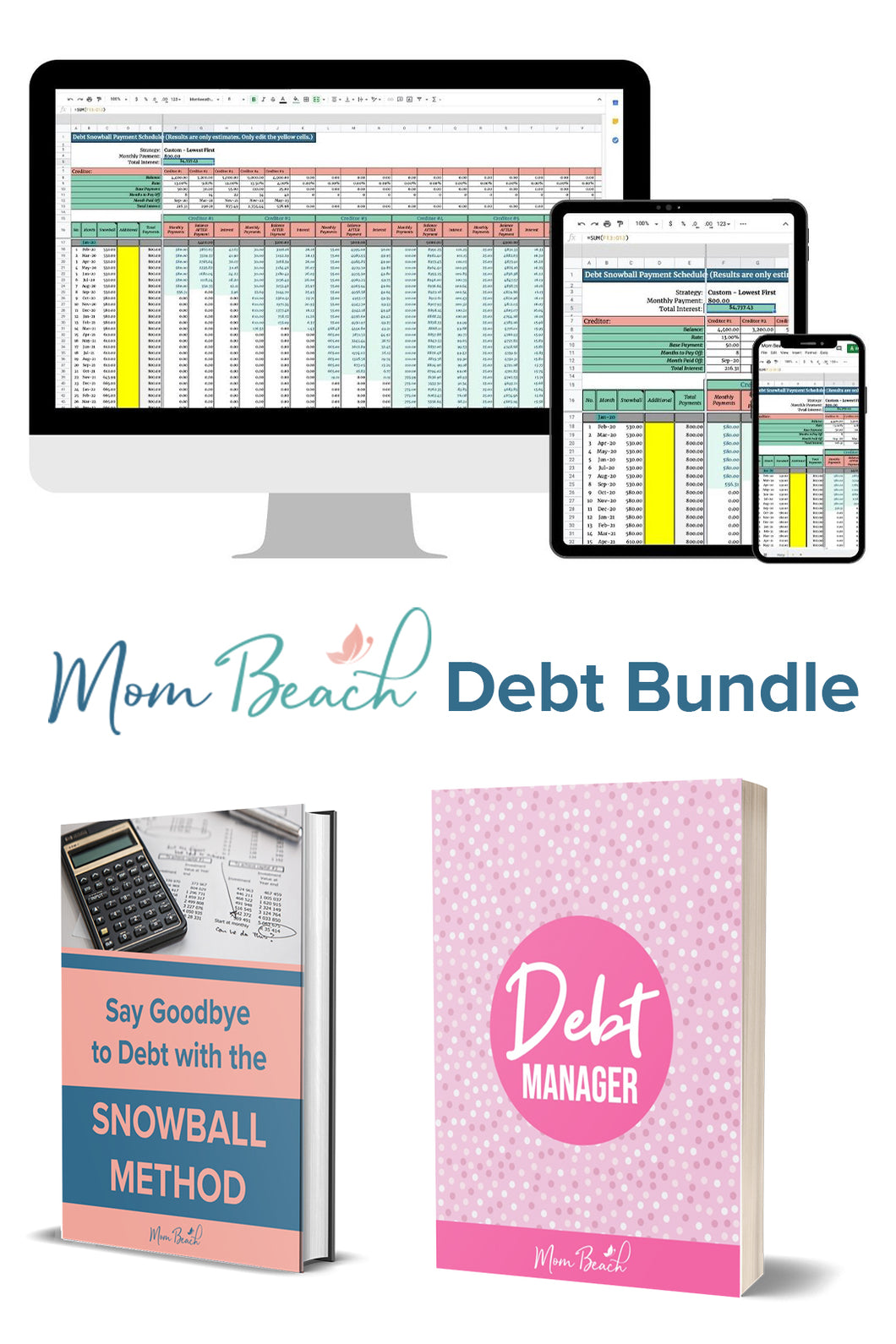 Mom Beach Debt Bundle