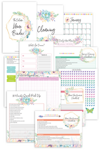 Special Deluxe Home Binder (47 Pages)
