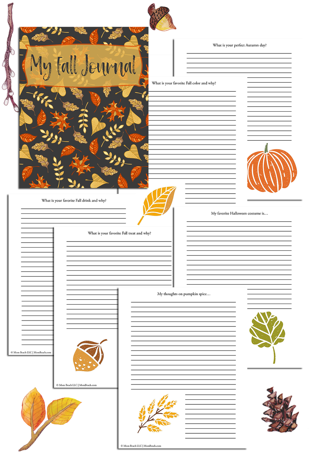 My Fall Journal (33 Pages)