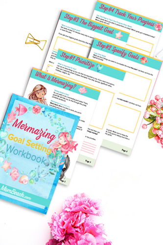 Mermazing Goal Setting Workbook