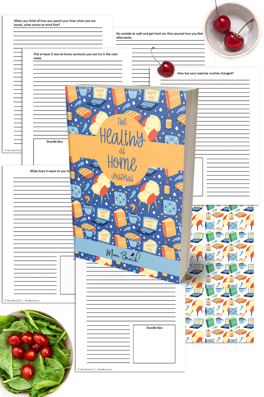 The Healthy at Home Journal ( 51 Pages )
