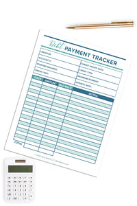 Debt Payment Tracker (1 Page)