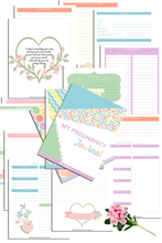 Load image into Gallery viewer, My Pregnancy Journal (189 Pages)