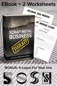 Mom Beach Side Hustle Toolkits - Scrap Metal Business