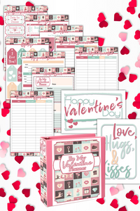Be My Valentine Planner ( 25 Pages )