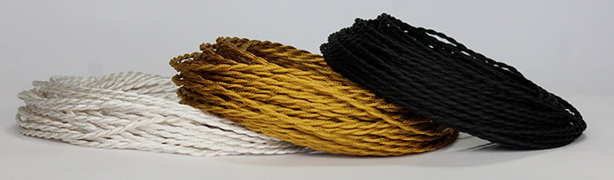 22-gauge cloth-covered wire