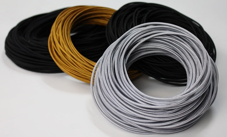 cloth-covered single-conductor wire