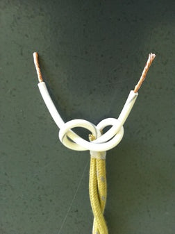 underwriter's knot in twisted pair