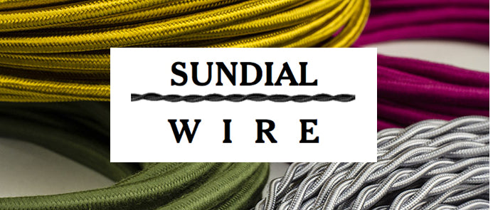 Highest quality US-made cloth-covered wire in many styles, colors, patterns, and gauges. Fully customizable pendants and cord sets, new and vintage lighting.  A rich array of lamp parts.  Knob and tube wire and procelain.  Lots of how-to and information pages.