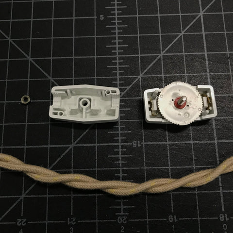 open rotary switch with twisted pair wire