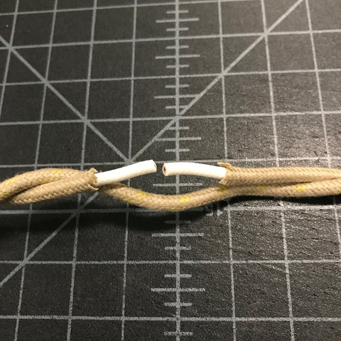 cut hot wire with fabric cut back