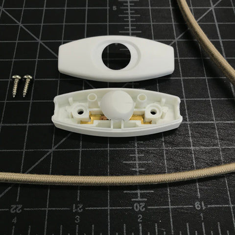 open slim switch with parallel cord