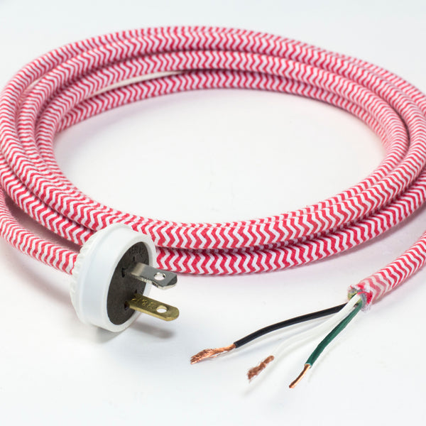 CORD SET with 3-CONDUCTOR 18-GAUGE PULLEY CORD