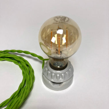 BULB: VICTORIAN STYLE WITH LED FILAMENT, 4.5W, AMBER
