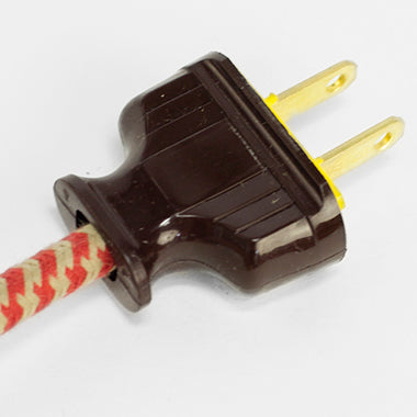 Brown Rectangular Plug