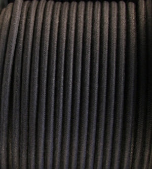 SINGLE CONDUCTOR 12-GAUGE BLACK KNOB & TUBE WIRE