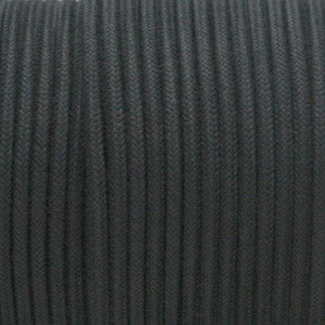 SINGLE-CONDUCTOR 14-GAUGE BLACK COTTON WIRE