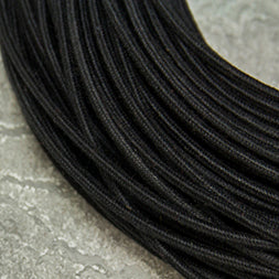 SINGLE-CONDUCTOR 18-GAUGE BLACK COTTON WIRE