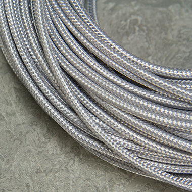 SINGLE-CONDUCTOR 18-GAUGE SILVER RAYON WIRE