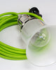 3-CONDUCTOR 18-GAUGE LIME GREEN COTTON PULLEY CORD - UL-Listed