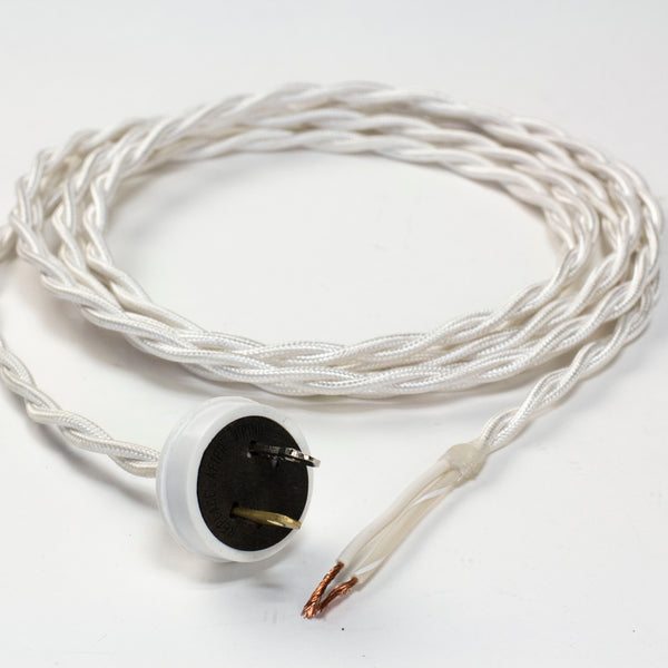 CORD SET with 18-GAUGE TWISTED PAIR WIRE