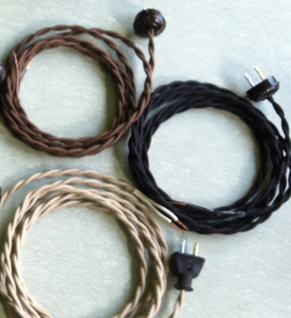 ADDITIONAL FOOTAGE of 16-GAUGE TWISTED PAIR for Cord Set or Pendant
