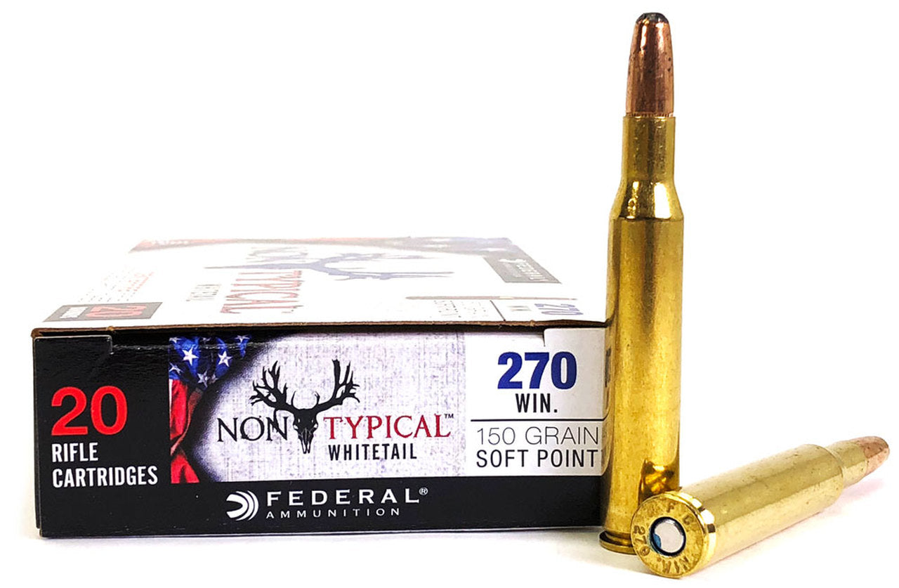 Federal Non-Typical Whitetail .270 win 150gr soft point