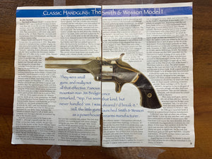Smith and Wesson No. 1 .22 short