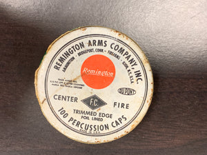 Remington Arms Co Center Fire Percussion Caps