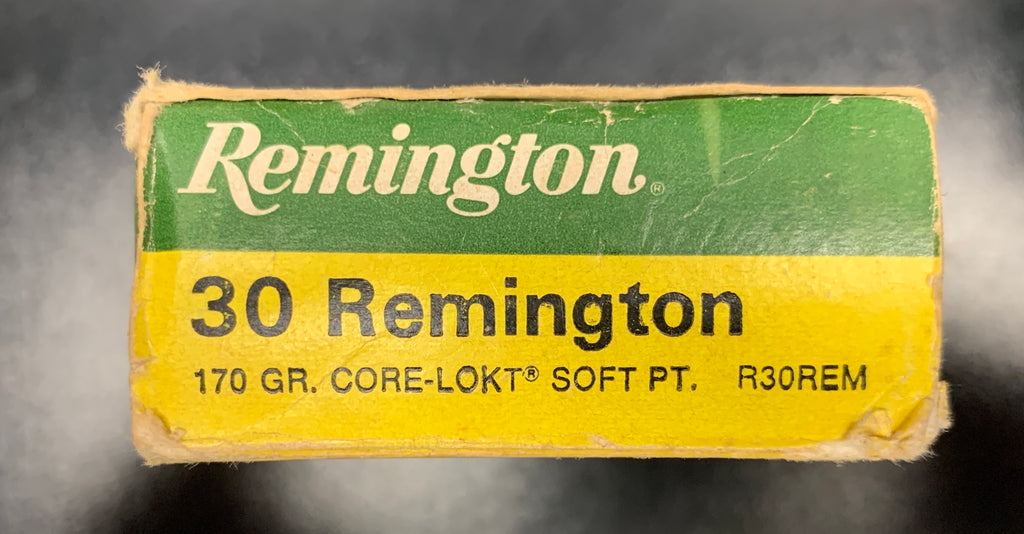 30 Remington 170 gr. Core-Lokt 20ct.
