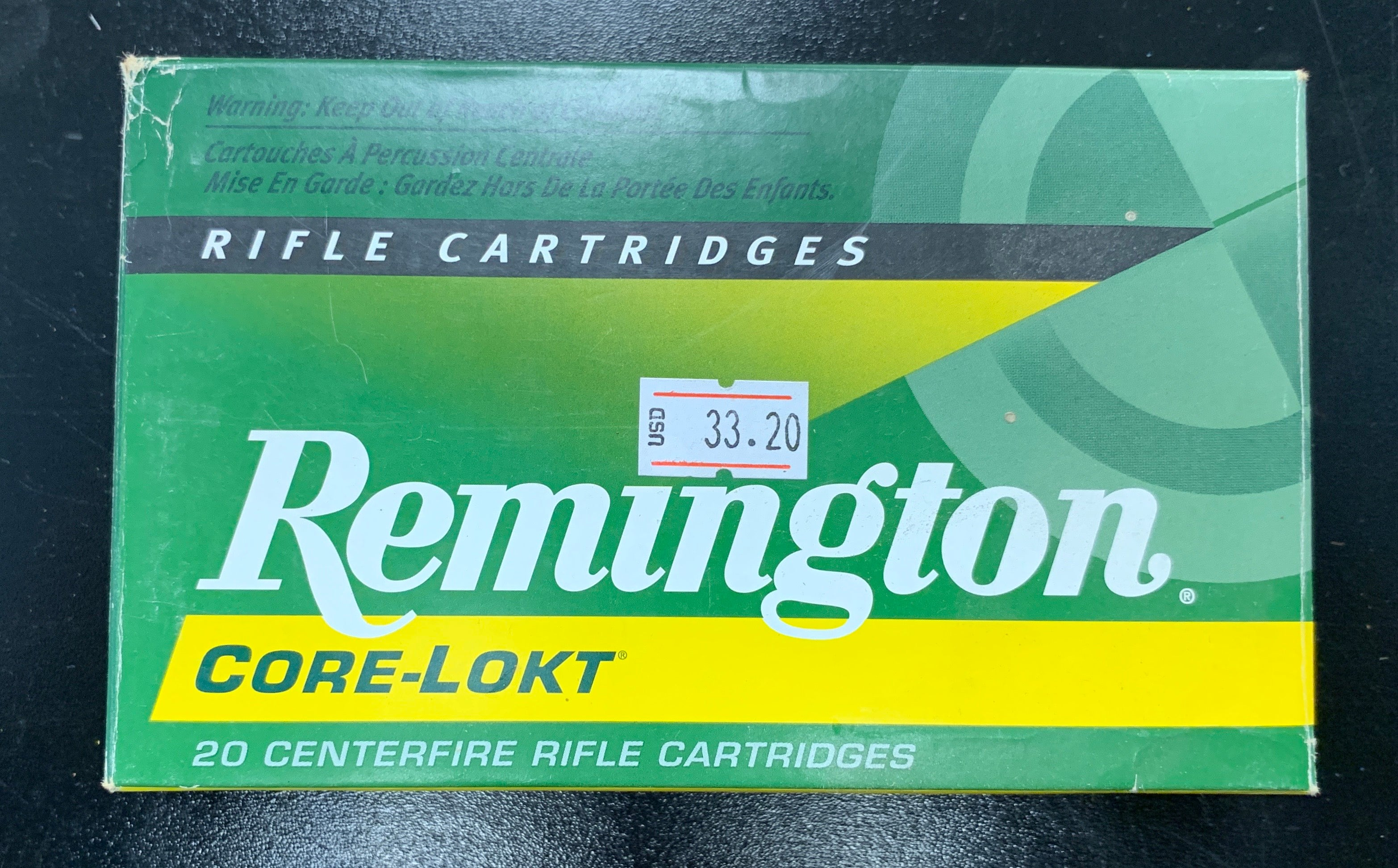 Remington Core-Lokt 8mm Mauser