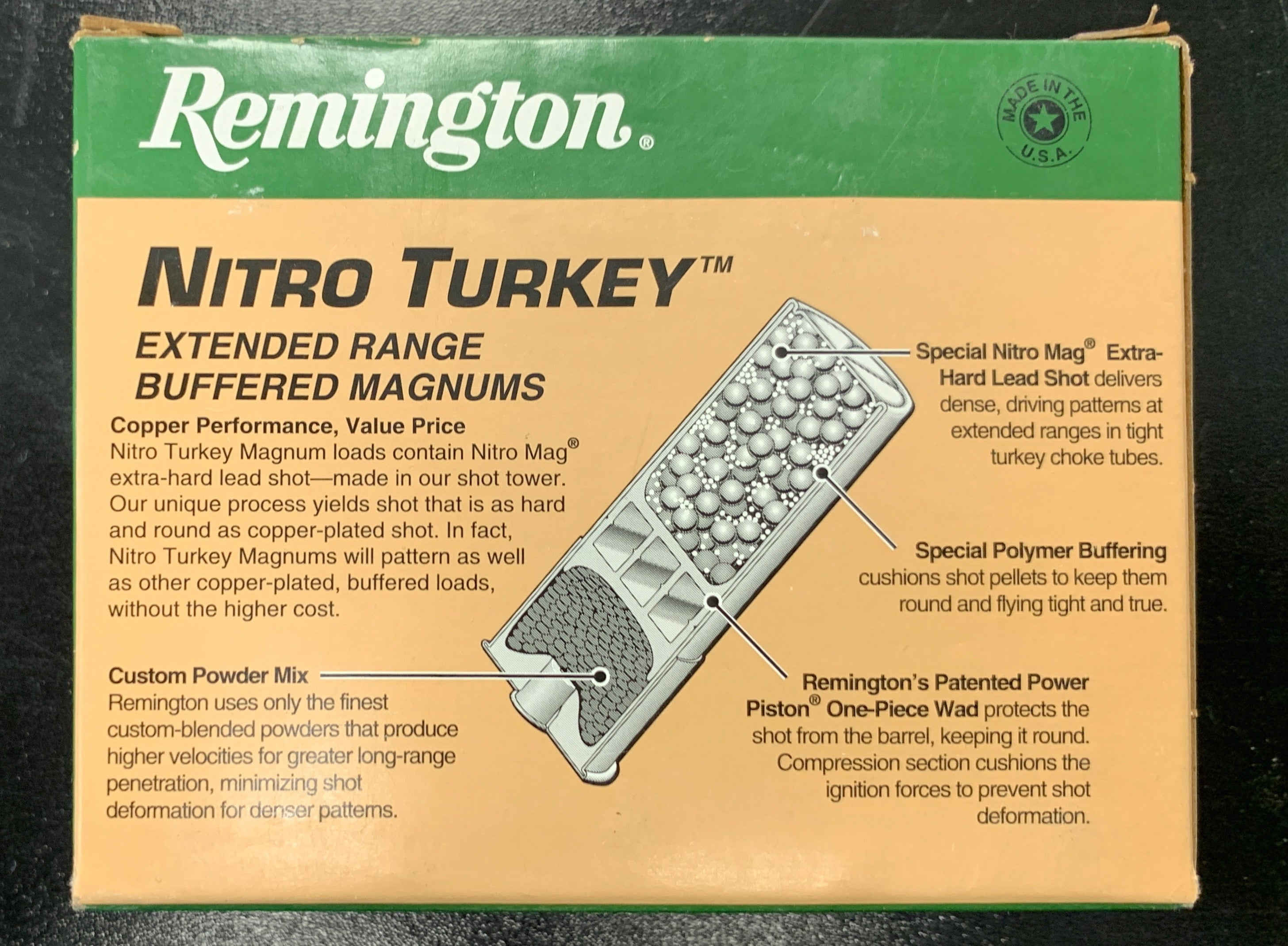 "Remington Nitro Turkey 3.5"" #5 Shot"