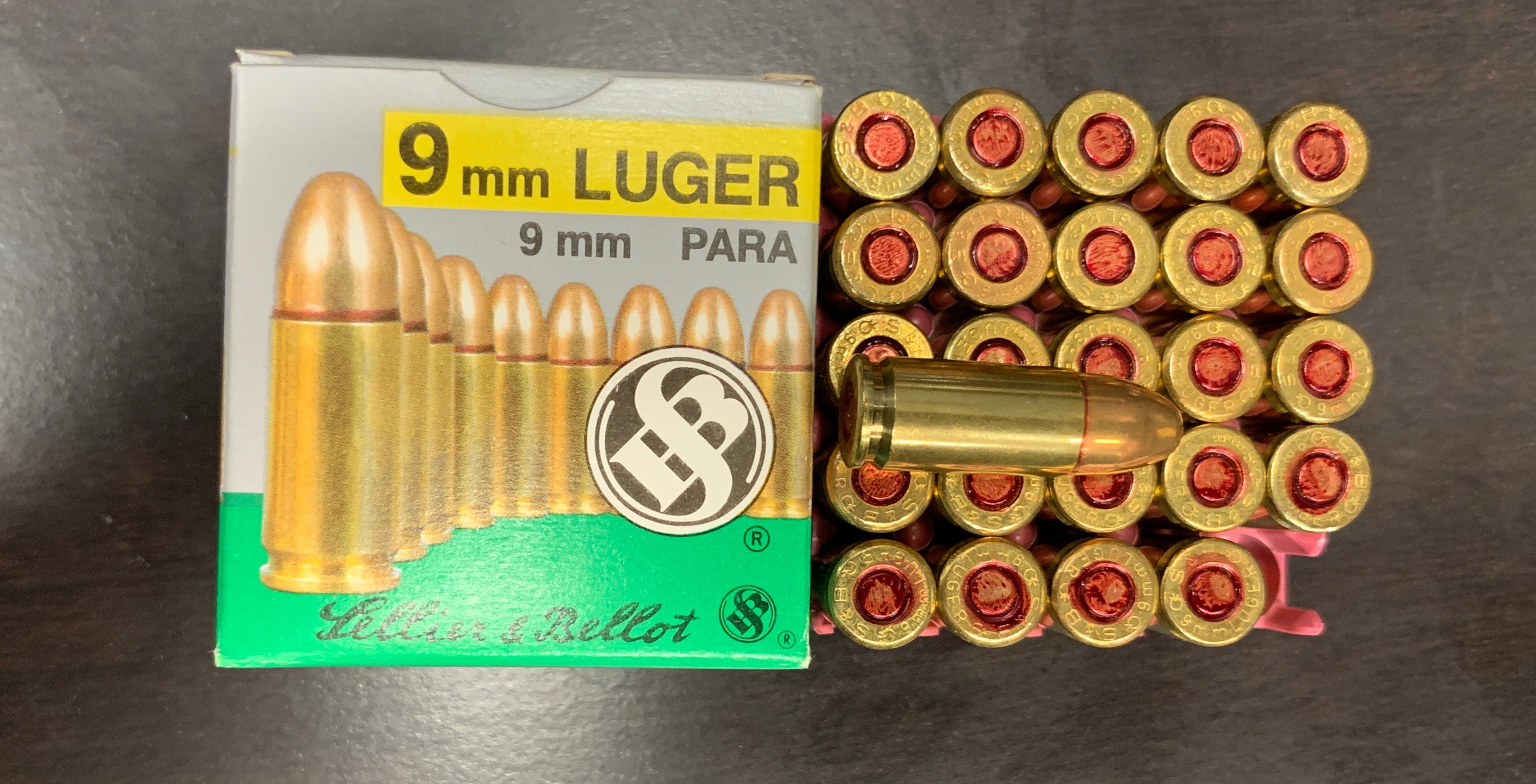 Sellier and Bellot 9mm Luger