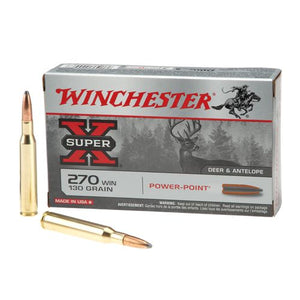 Winchester 270 Power Point Plus High Velocity 130gr.