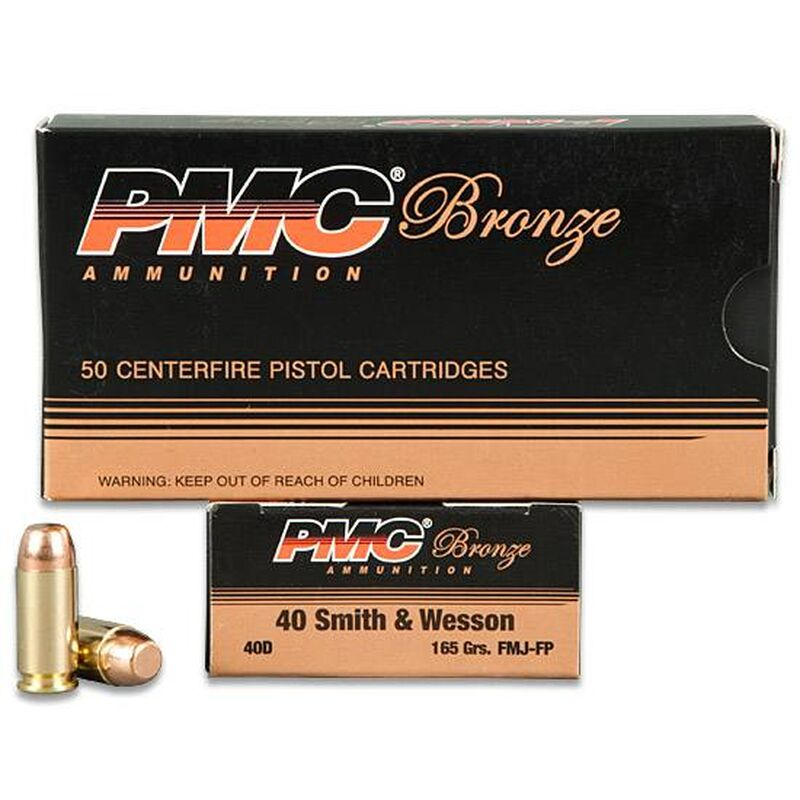PMC .40 S&W 165gr FMJ-FP