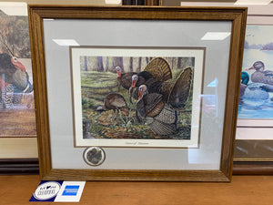 "Terry Hoyt ""Center of Attention"" NWTF print"